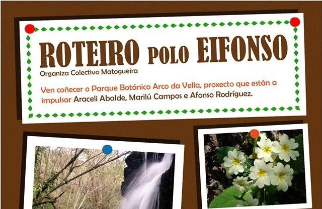Ruta por el Eifonso con el Colectivo Matogueira