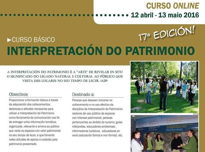 Curso online interpretación del patrimonio