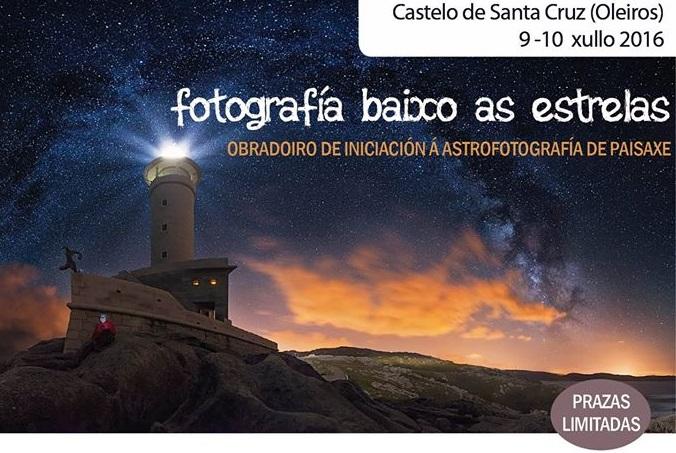 Fotografía bajo las estrellas