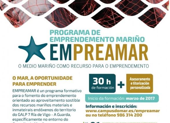 O concello de Moaña e o Campus do Mar buscan vocacións emprendedoras ligadas ao medio mariño