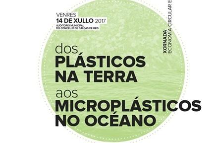 """Xornadas sobre economía circular e sustentabilidade. """"Dos plásticos na terra aos microplásticos no océano"""""""
