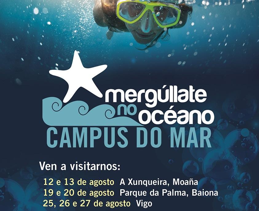 'Mergúllate no Océano' achega un verán máis a ciencia ás praias