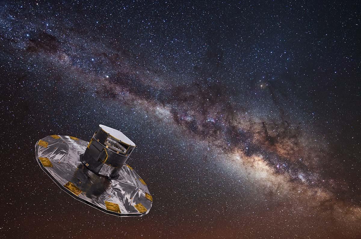 Astrofísica da UVigo participa na misión espacial Gaia que obtén a imaxe máis completa da Vía Láctea
