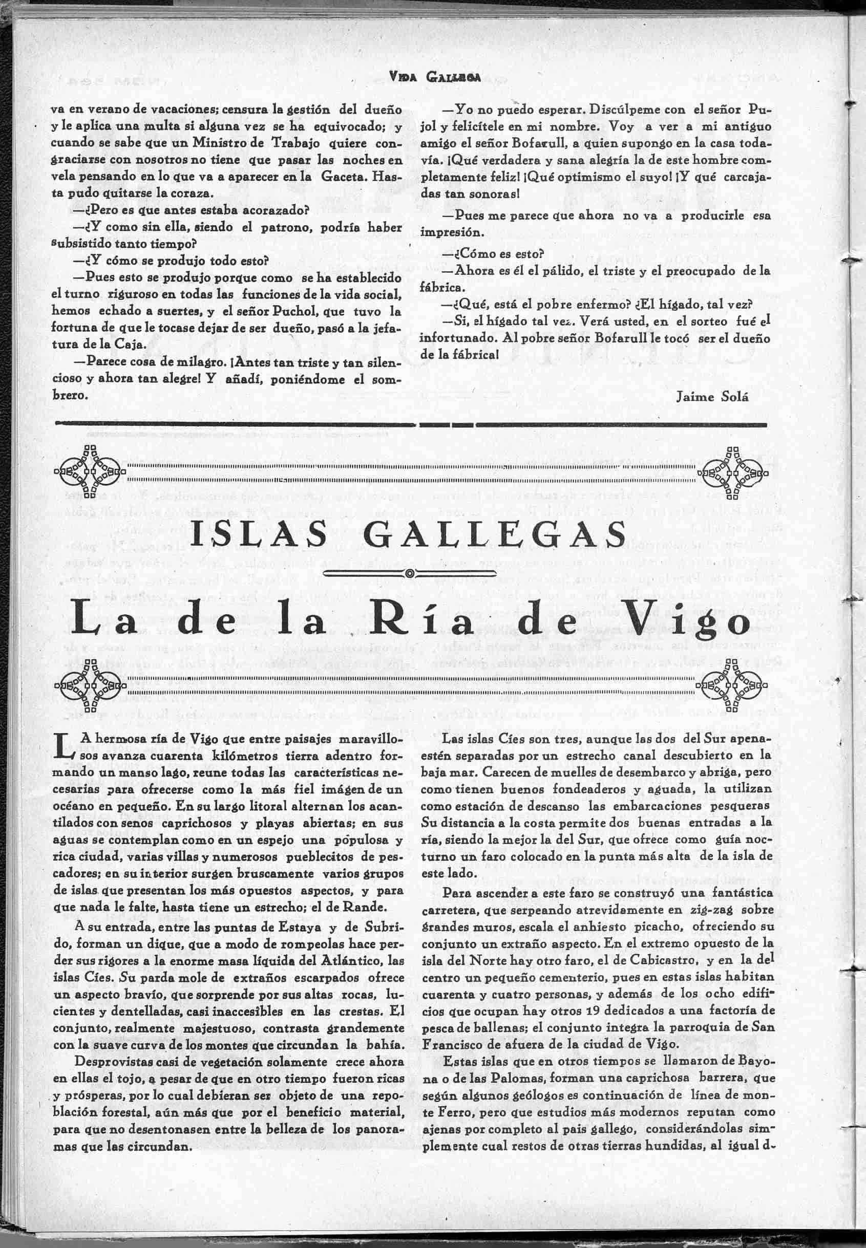 islas gallegas