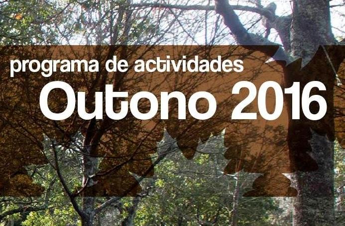 Montes de Vigo e uso público. Programa actividades de outubro