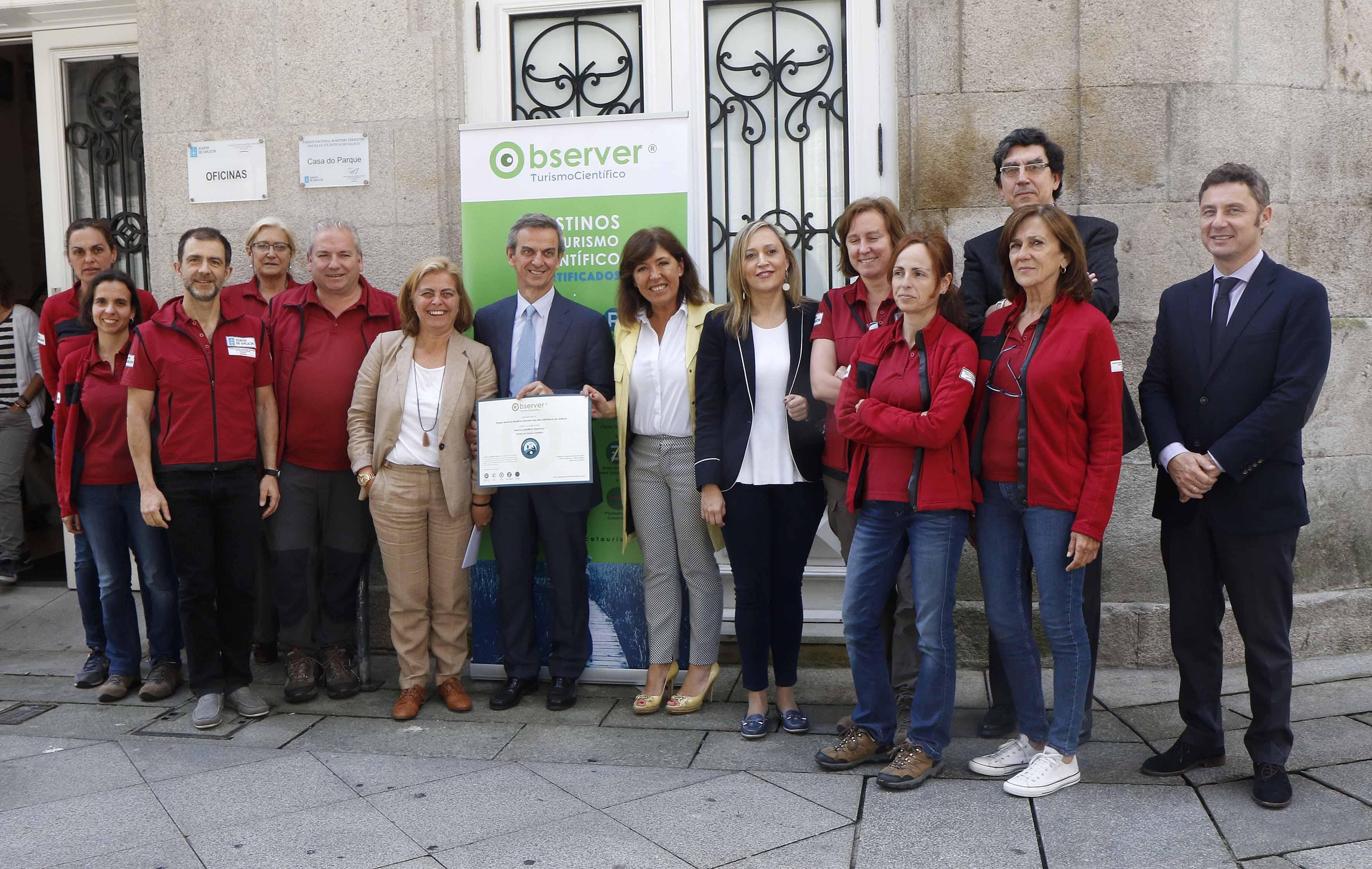 O Parque Nacional das Illas Atlánticas convértese no primeiro destino galego en recibir o selo Observer