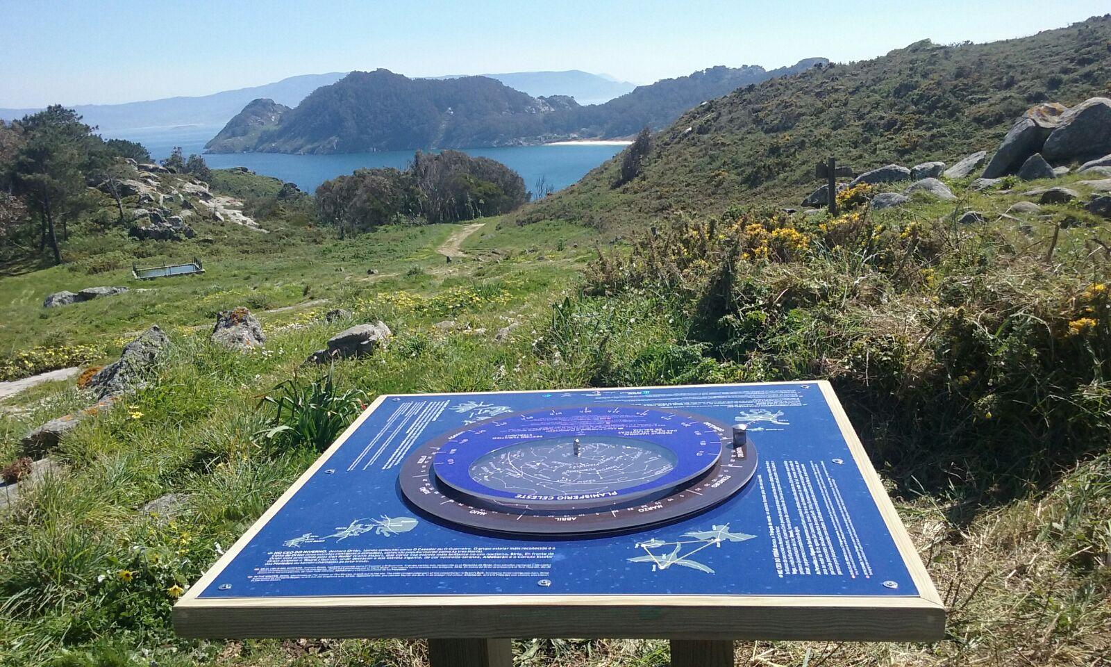 Catro grandes planisferios estelares nas Illas Atlánticas para seguir impulsando o turismo astronómico