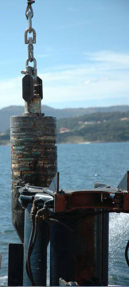 Unha tese analiza o papel dos sedimentos da ría de Vigo na acumulación e liberación de metano á atmosfera