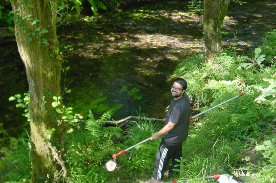 Unha tese afonda na influencia dos pequenos ríos nas rías galegas